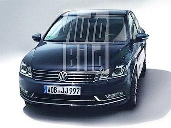 Появилась первая фотография нового VW Passat