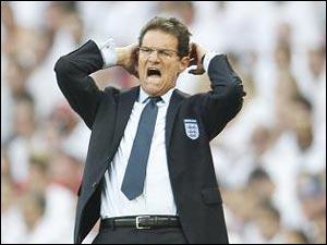 Фабио Капелло: Ожидал большего от сборной Англии