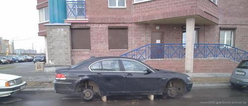 Волна автокраж захлестнула Минск