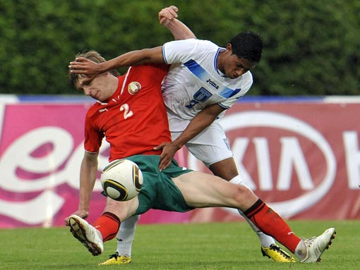 Сборные Беларуси и Гондураса сыграли со счетом 2:2