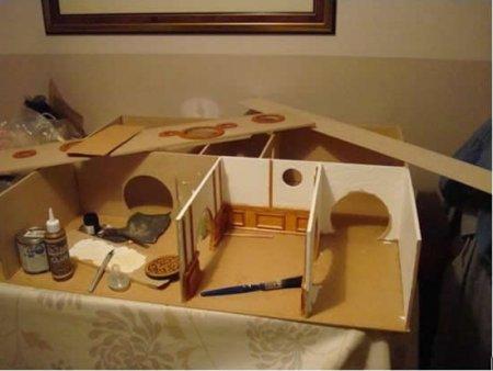 Кукольный домих для хоббитов