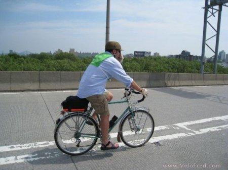 Ежегодный велопробег в Нью-Йорке
