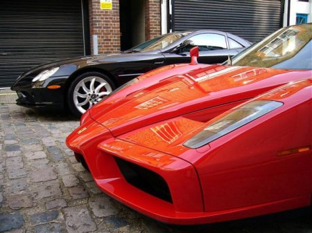 Коллекция машин у преступника