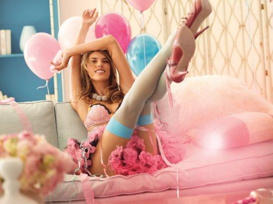 Alessandra Ambrosio для Victorias Secret