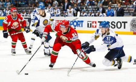 Хоккей. Сборная Беларуси выиграла у Казахстана