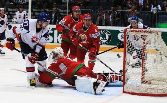 Хоккей. Сборная Беларуси проиграла Словакии