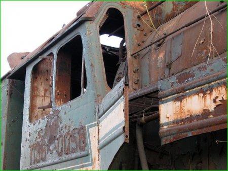 Заброшенные паровозы