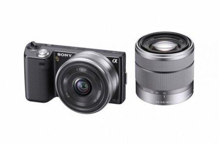 Sony NEX-5 и NEX-3 - ультракомпактные беззеркальные фотоаппараты со сменными объективами