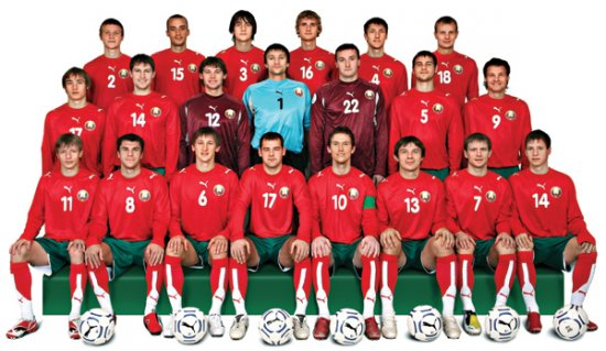Белорусские футболисты готовятся к «битве» с Гондурасом
