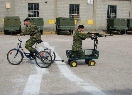 Веселые армейские будни