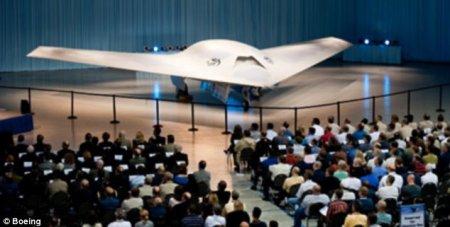 Беспилотный Boeing Phantom Ray - невидимый хищник