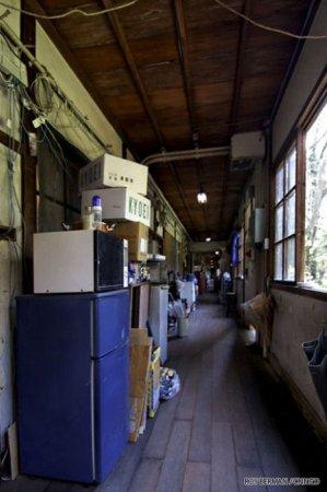 Общежитие в трущобах Японии