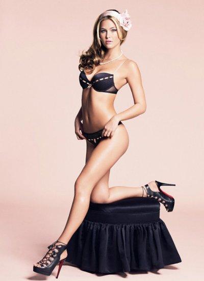 Невеста ди Каприо в рекламе нижнего белья