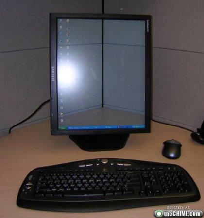 Ловкие трюки с прозрачным экраном