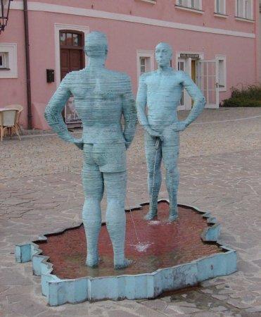 Крайне необычные скульптуры