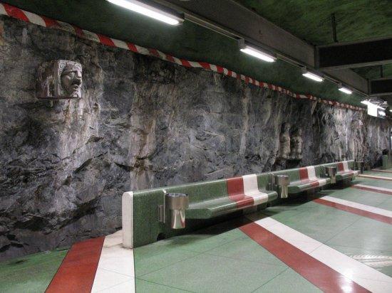 Самое необычное метро (Stockholms tunnelbana)