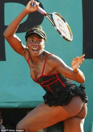 Тенисное платье Венус Уильямс