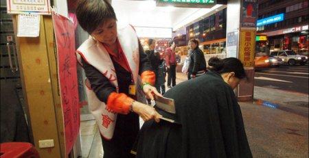 В Тайване придумали новый вид массажа — ножевой
