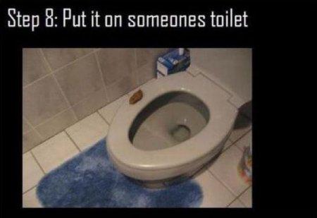 Отличный туалетный прикол из подручных материалов