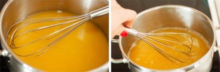 Ванильная панна котта с апельсиновым желе