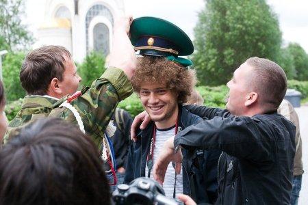 День пограничника в Москве