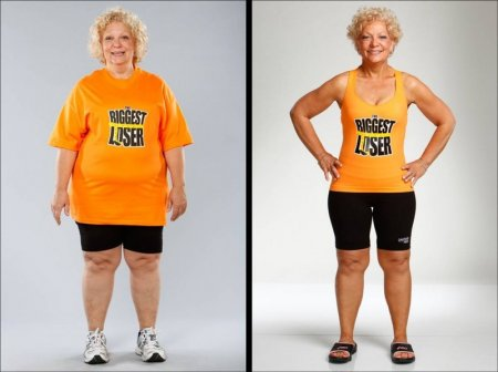 """Борьба с лишним весом на программе """"Biggest Loser"""""""