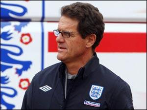 Капелло назвал итоговую заявку сборной Англии на ЧМ-2010