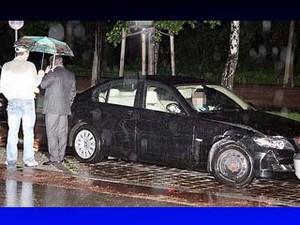 Пьяные российские дипломаты на посольском BMW устроили разгром в центре Берлина
