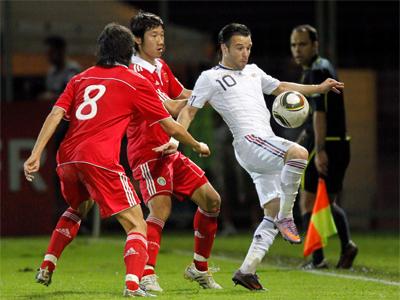 Футболисты сборной Франции проиграли китайцам