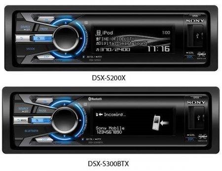 Sony Tune Tray - магнитола с отсеком для iPod/iPhone