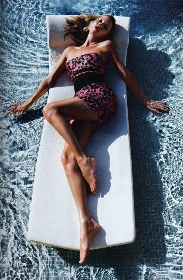 Kate Moss for Vogue Paris June/July 2010