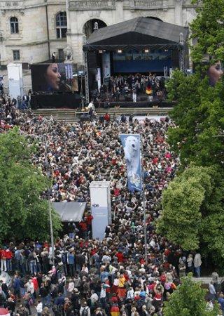 Возвращение домой: Как победительницу Евровидения встречали в Германии