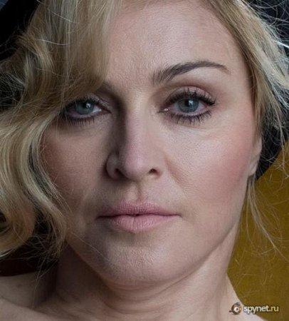 Как Мадонну фотошопили