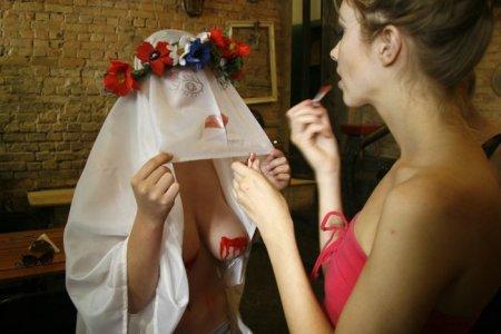 """���������� �������� FEMEN �������� """"���������"""""""