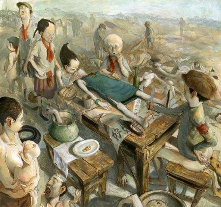 Картины, иллюстрации и скетчи гонконгского художника Винсента Хьюи (Vincent Hui)