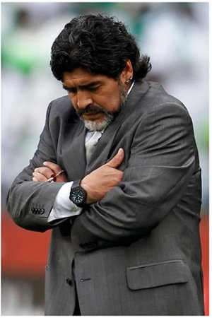 Эмоции тренера: Аргентина — Нигерия 1:0