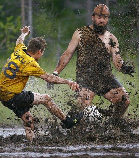 Фотообзор чемпионата мира по болотному футболу