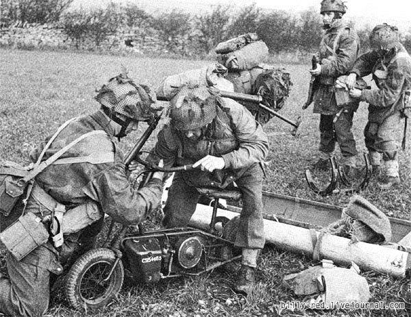 Welbike - оружие десанта