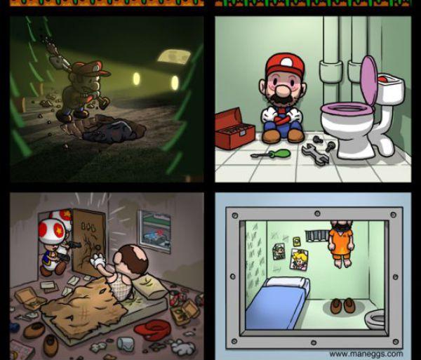 Настоящая история Марио