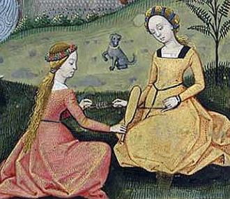 Парфюмерия и косметика средневековой Европы