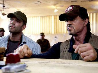 Новый фильм Сталлоне захватил лидерство в североамериканском прокате