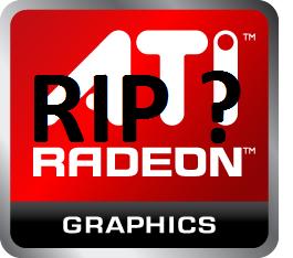 AMD вскоре избавится от бренда ATI?