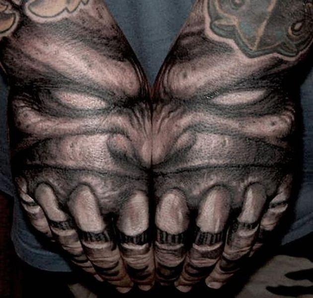 Объемные тату