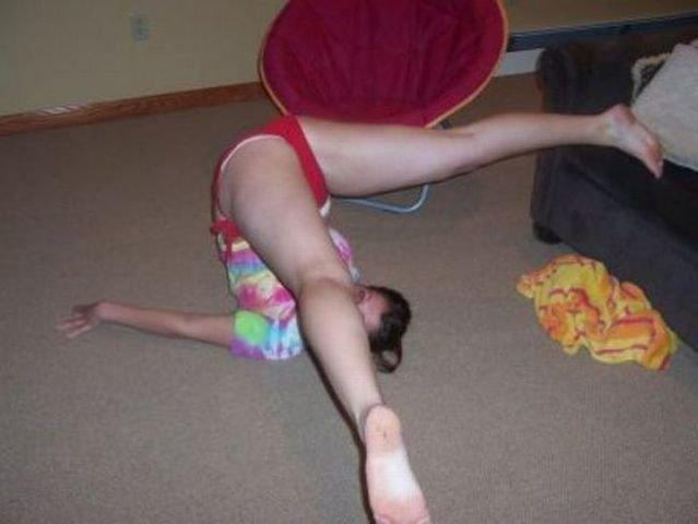 Babe body builder nude