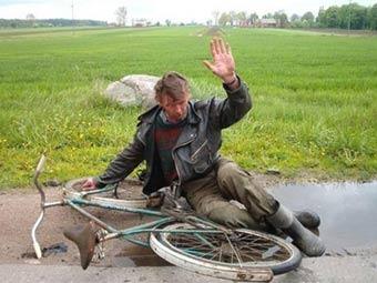 Американца арестовали за ссору со своим велосипедом