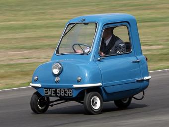 Британцы возродят самый маленький автомобиль в мире