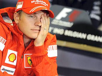 Формула-1: Citroen продлит контракт с Кими Райкконеном