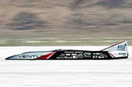 Установлен новый мировой рекорд скорости автомобиля