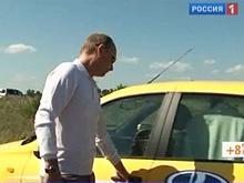"""""""Лада-Калина"""", которую нахваливал российский премьер , подвела его на трассе"""