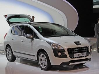 Peugeot начала продажу модели 3008